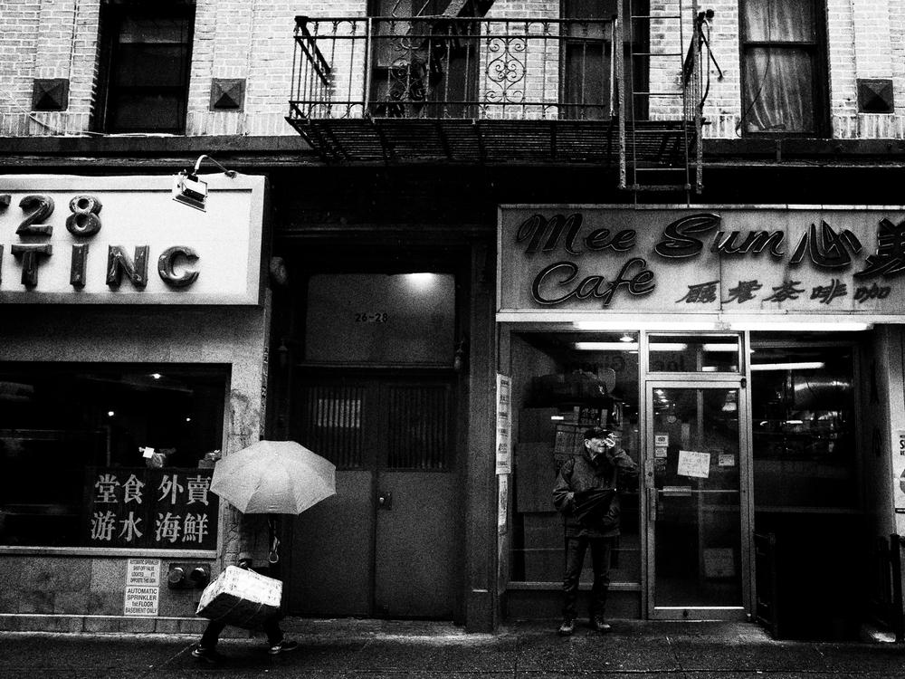 Chinatown, Manhattan.