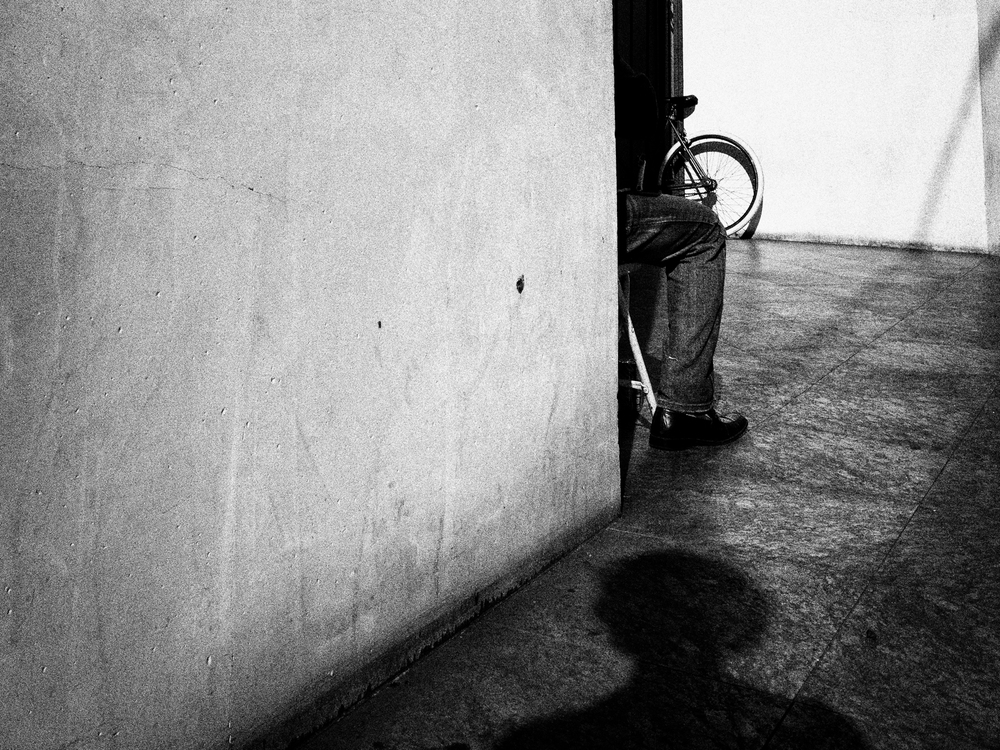 Self portrait. Downtown LA.