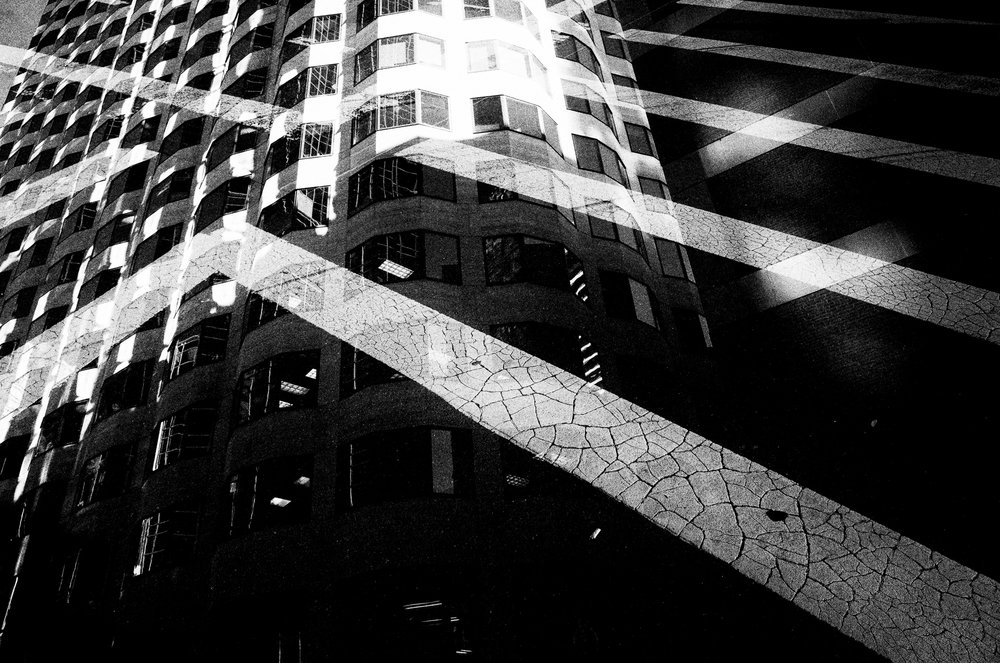Untitled. Digital double exposure. Boston.