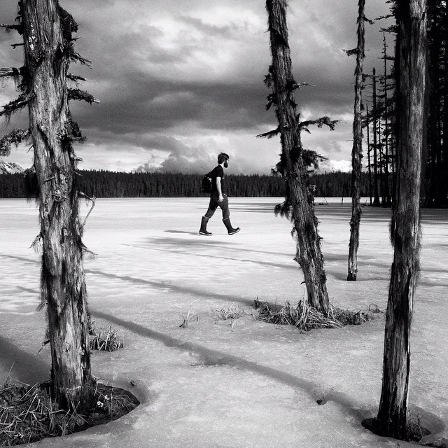 #BartlettLake near #Gustavus, #AK. April 2017. #shawnbiesselphotos #bw_captures #RicohGR #lensculture #hikaricreative #neverstopexploring