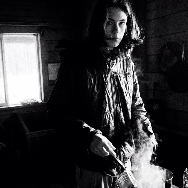 Making Top Ramen at a #Caineshead cabin. #Seward, #AK.  #shawnbiesselphotos #bw_captures #RicohGR #ricoh #hikaricreative #lensculture #neverstopexploring