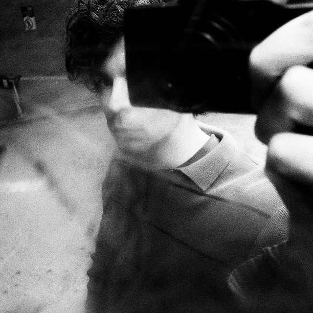 #DTLA self portrait. February 2017. #shawnbiesselphotos #RicohGR #bw_captures