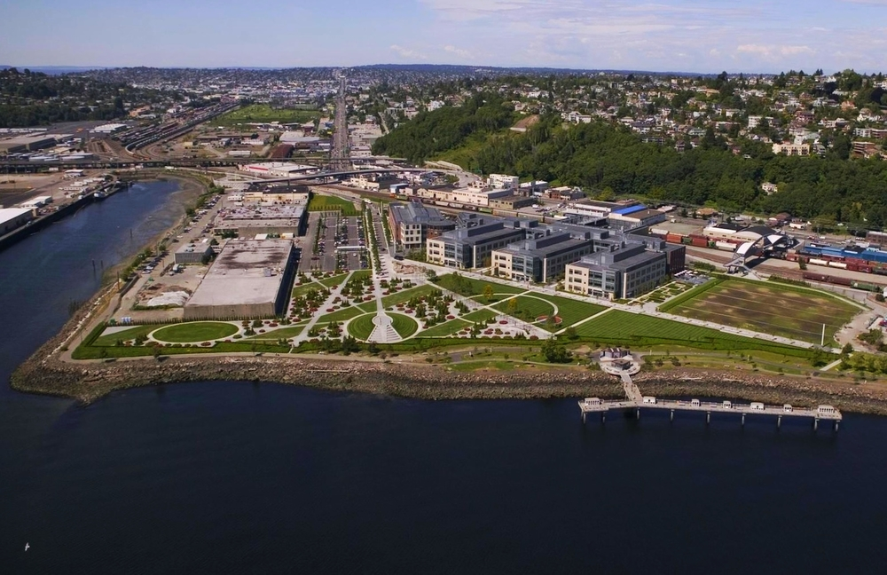 AMGEN - 850,000 sf   Seattle, WA - Real Estate Review - Reposition and development analysis with Lend Lease