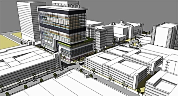 Georgia state university - 350,000 SF   Atlanta, GA - Phase 2 Development Analysis (designed by HOK & phase 1 constructed by McCarthy)