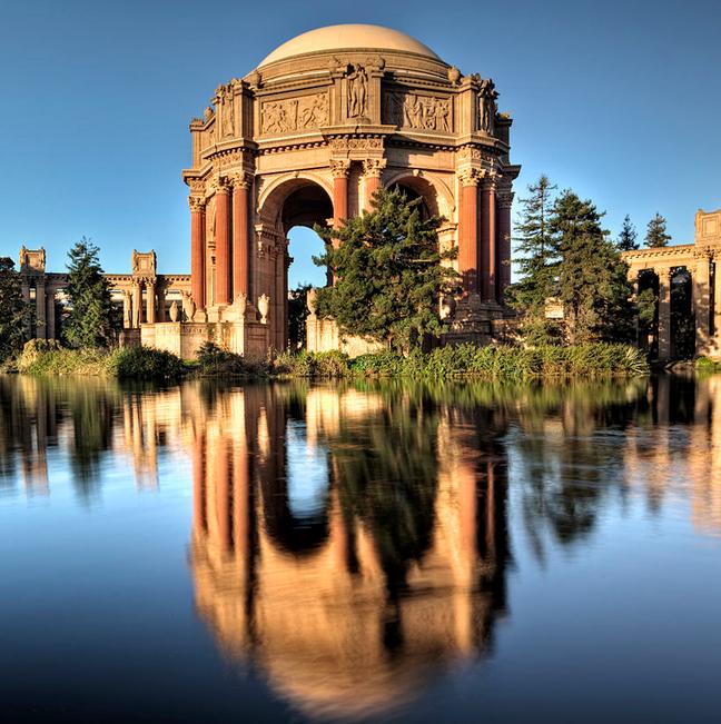 Palace of Fine Arts  iHangar - San Francisco