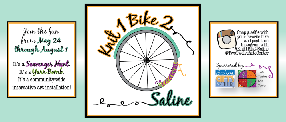 Click to find out more about Knit 1 Bike 2 Saline!