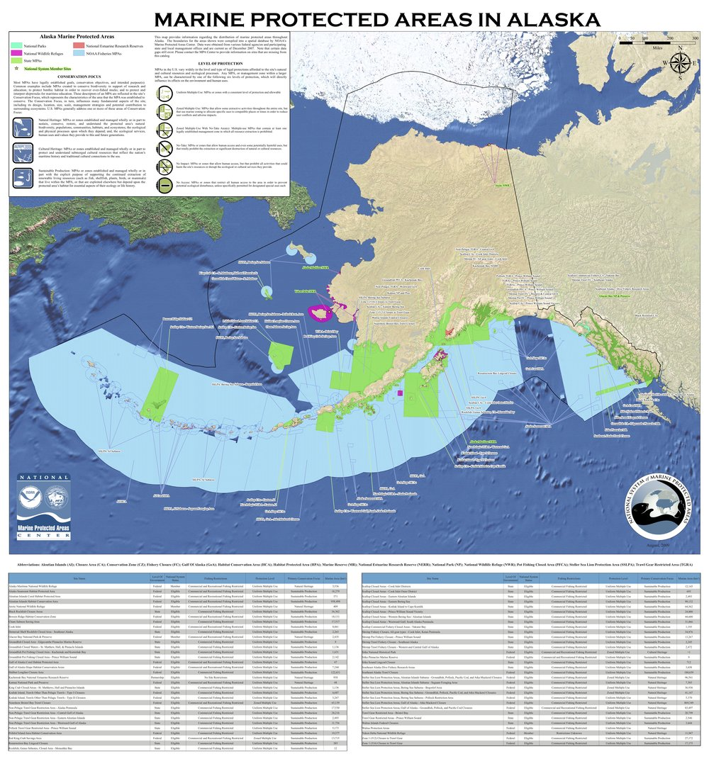 Map courtesy of NOAA and the U.S. Department of the Interior