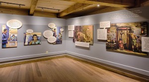 "Ark Encounter opened a new exhibit, ""Why the Bible is True."""