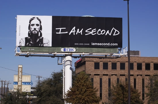 "I am Second Brian ""Head"" Welch Billboard"