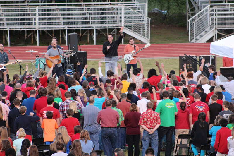Jay Lowder Leads 300 to Christ at Haughton Adventure Weekend.jpg