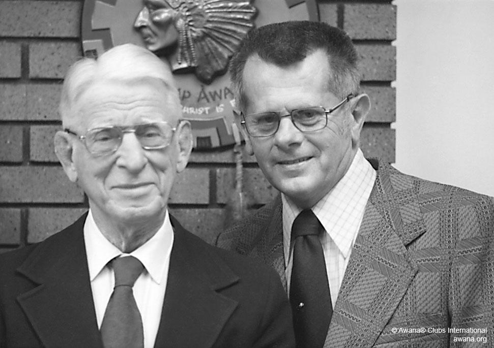 Doc Latham and Art Rorheim