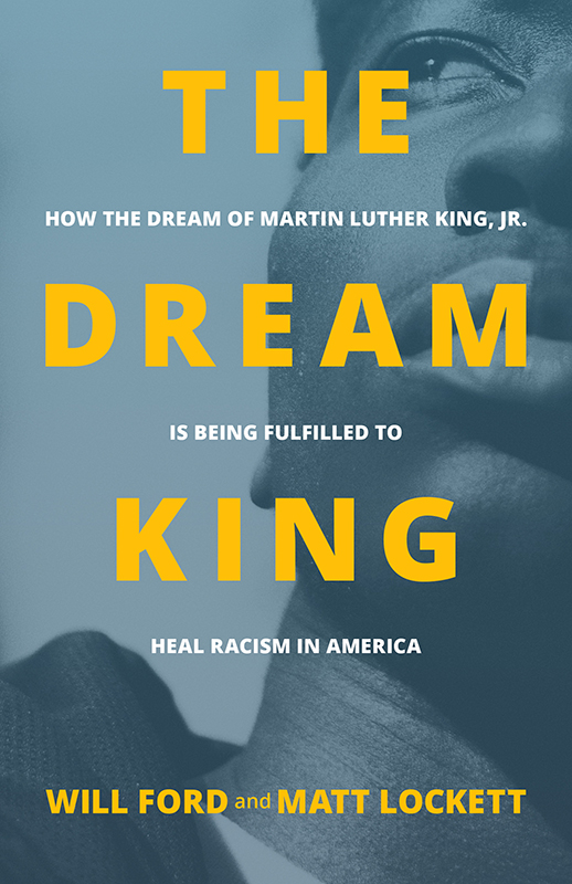 """The Dream King"" Book Cover"
