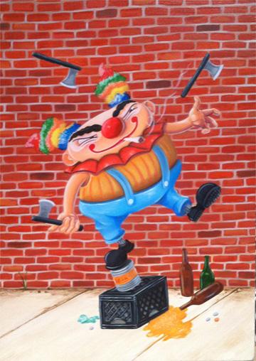"""""""Rusty the Clown"""""""