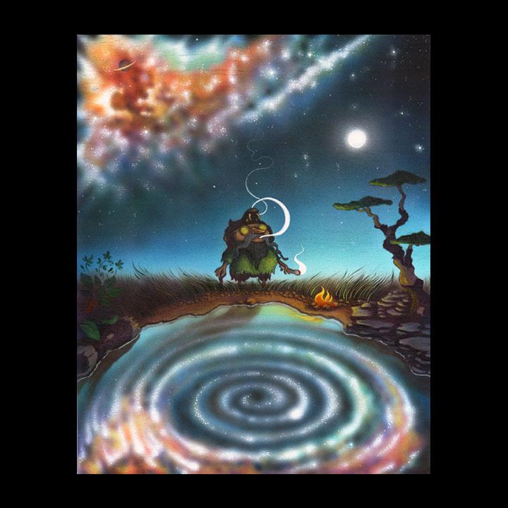 """Cosmic Swirl"""