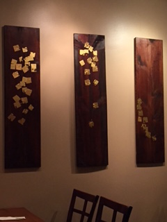 Artwork at Arroy Thai in Chicago (Lincoln Square)