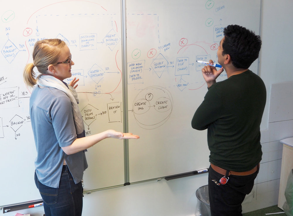 Regularly collaborated with UX designers from other products to hash through flows
