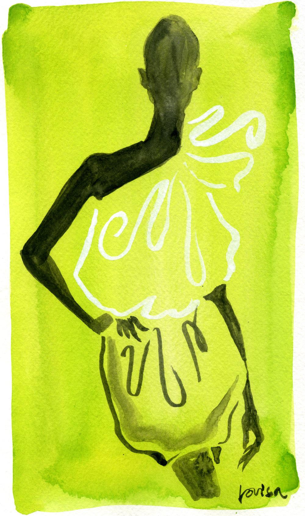 Lanvin Yellow