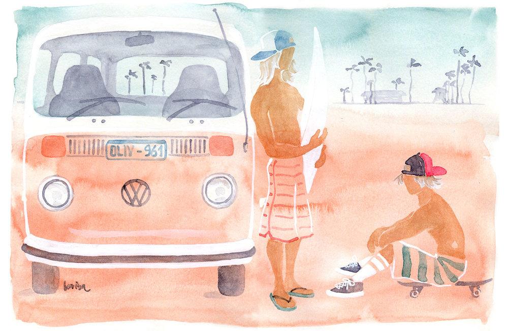 2 Dudes & a VW bus