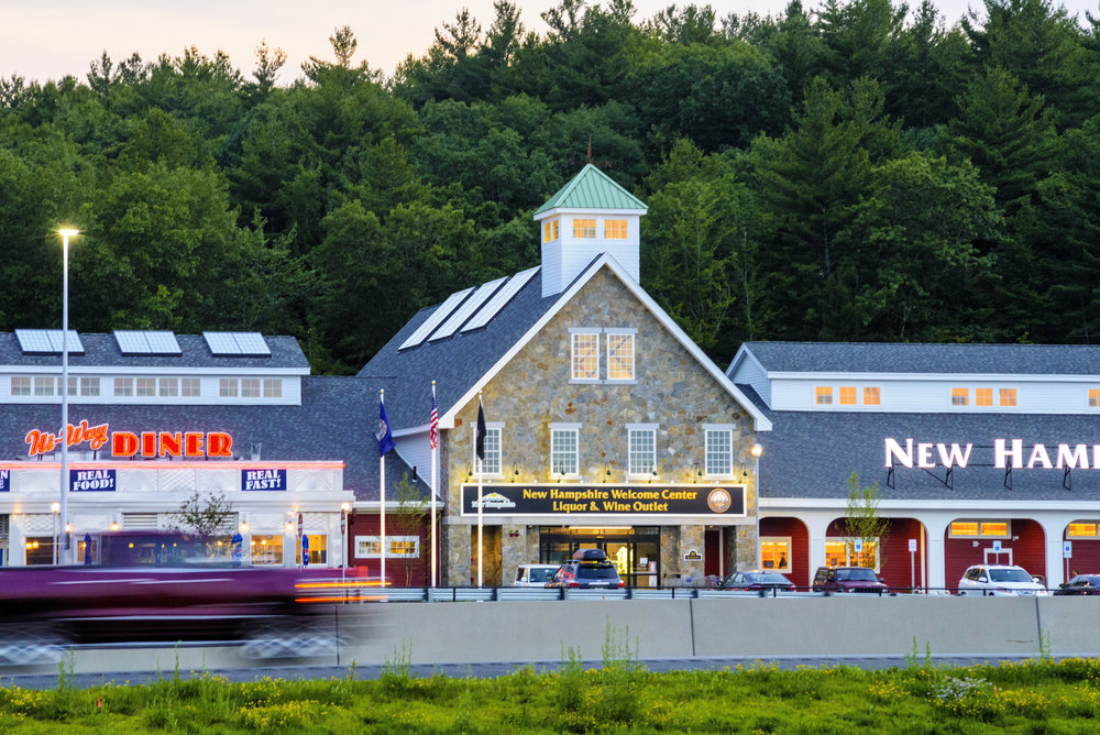 NH State Welcome Centers and Liquor & Wine Outlets Hooksett, NH