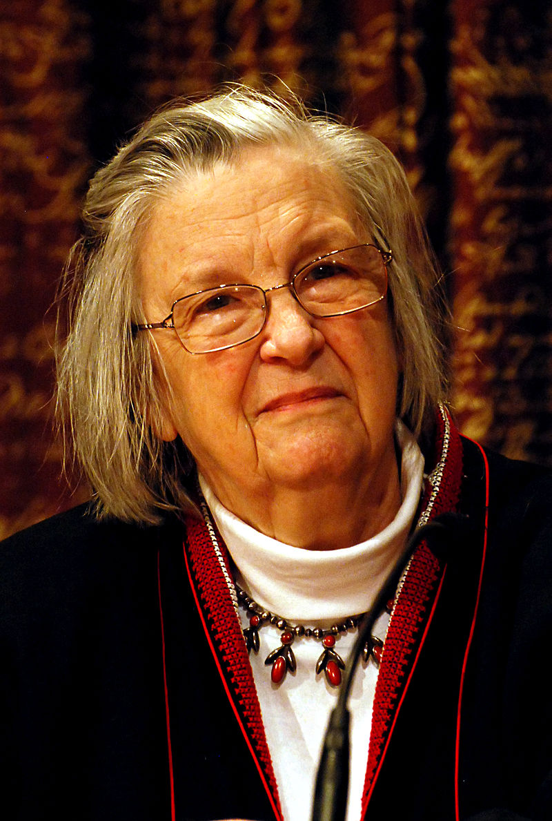 Elinor Ostrom, winner of the 2009 Nobel Prize in economics. Photo by Holger Motzkau.