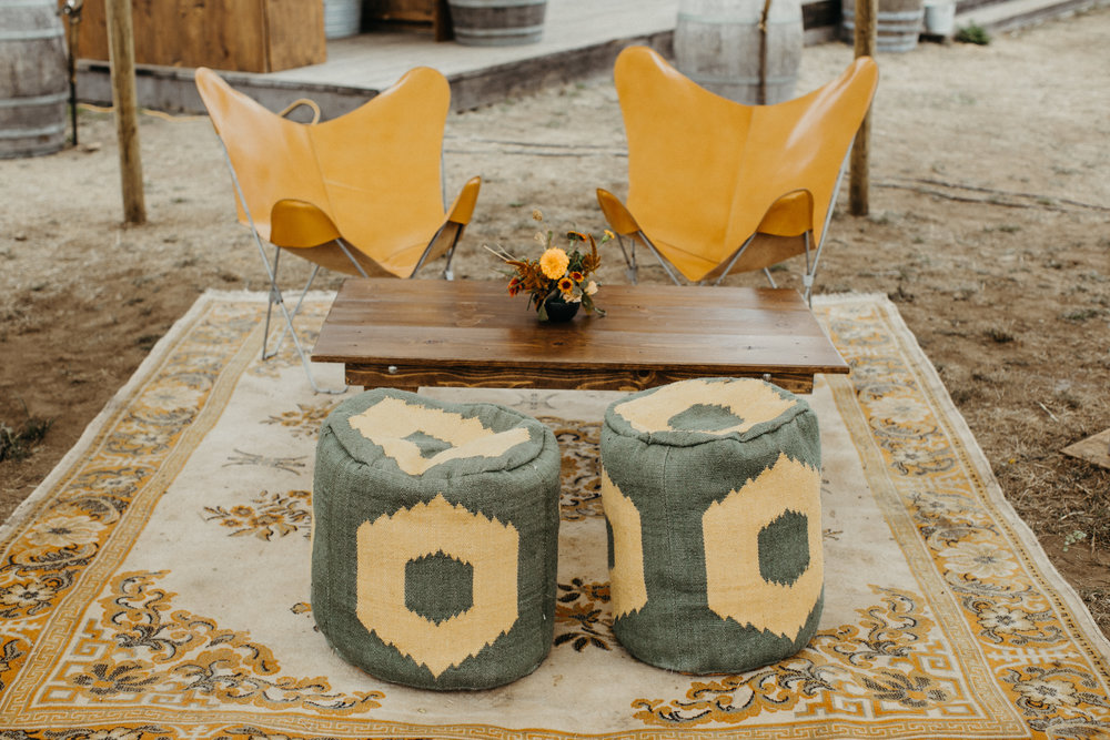 Ash + Oak floral's at Cuffey's Cove, Mendocino