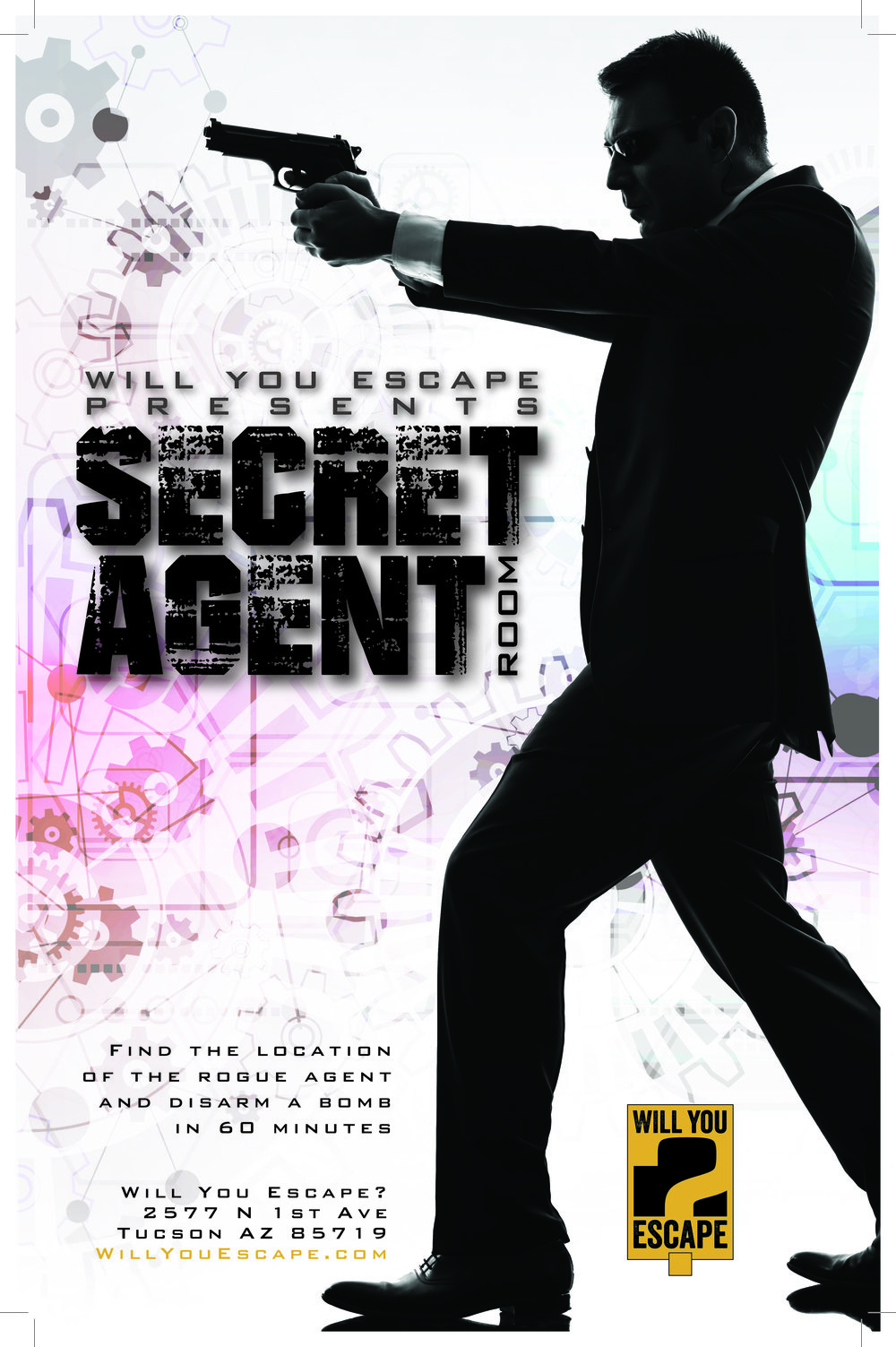 Tucson Escape Room Will You Escape Secret Agent Room