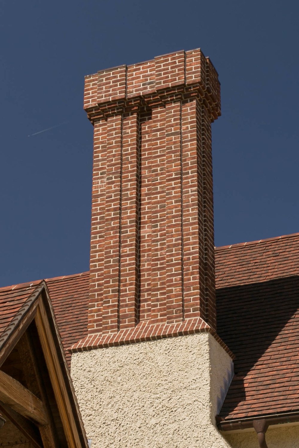 Lutyens designed this chimney for Munstead Wood in Surrey   in 1896
