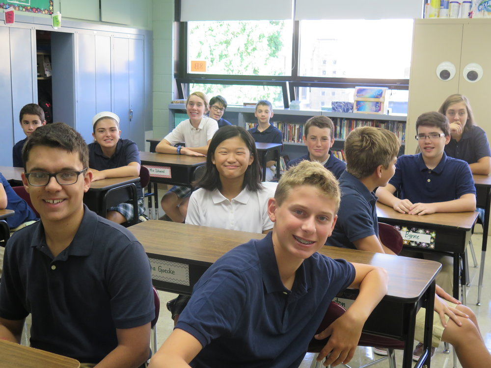 Our students consistently score well above both national and state averages on standardized Assessments, such as the MAP Tests and the PSAT 8/9. Typically, Over 90% of our graduates continue their education at Catholic High Schools