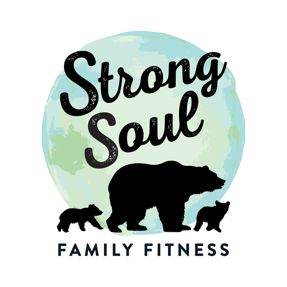Strong Soul Family Fitness Brand Identity