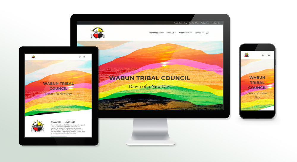 Wabun Tribal Council Website