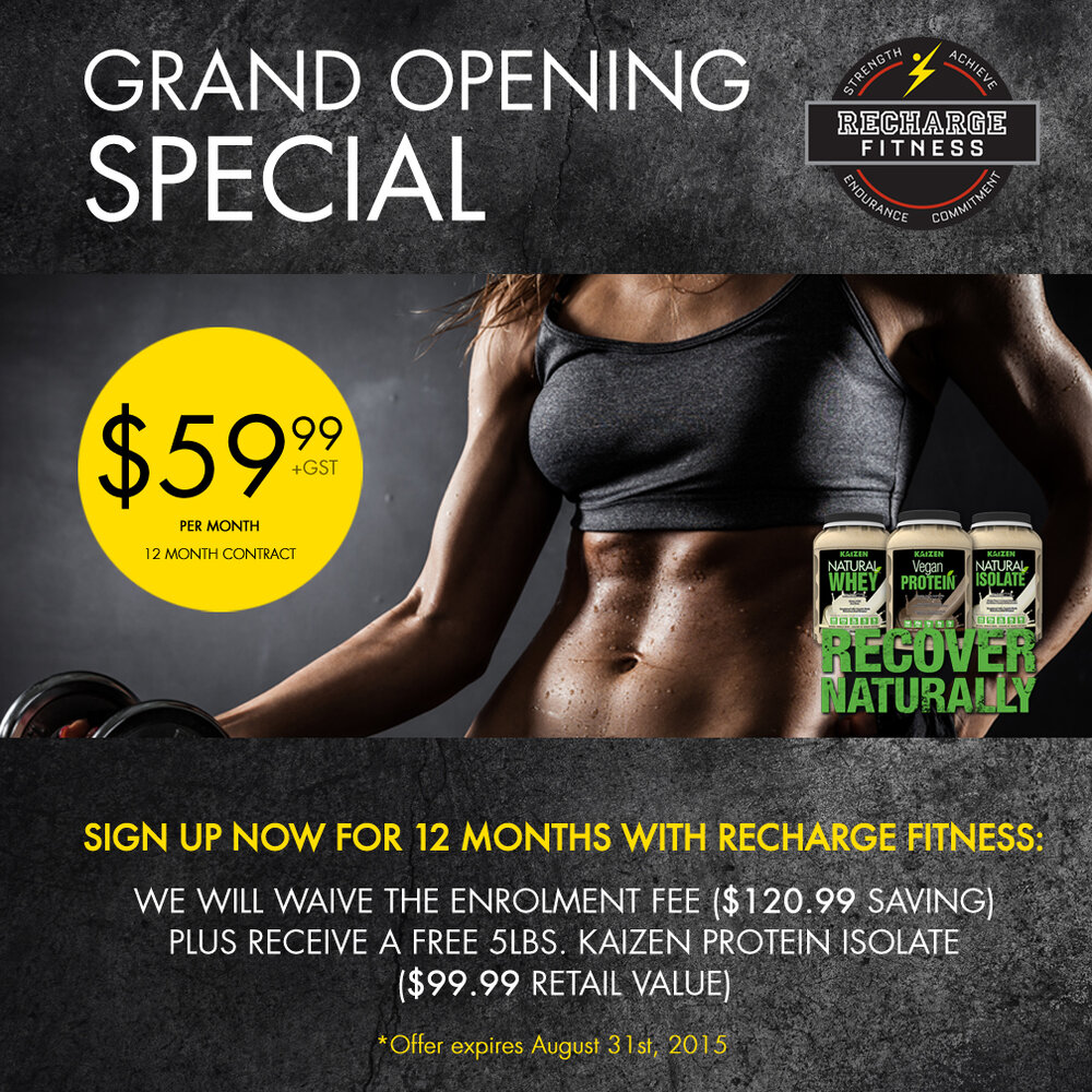Recharge Fitness Ltd.