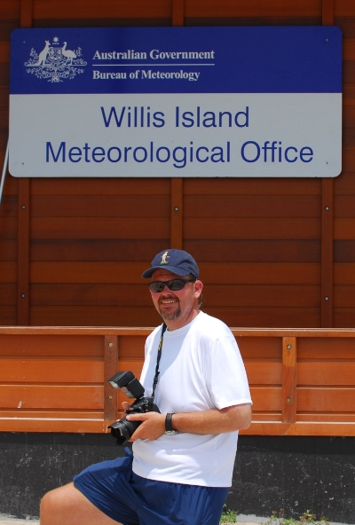 On assignment 500 miles east of Cairns, Australia in the Coral Sea.
