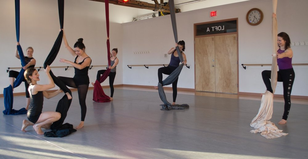 ADULT AERIAL   Beginner through Professional Level Classes   Learn More