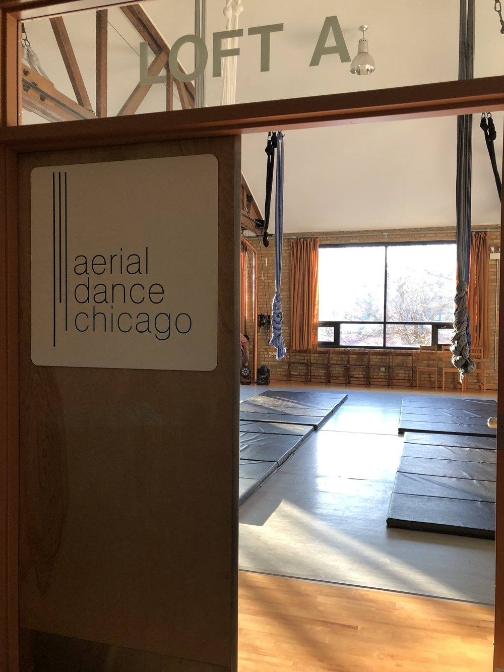 Join us at The School of Aerial Dance Chicago   Learn More