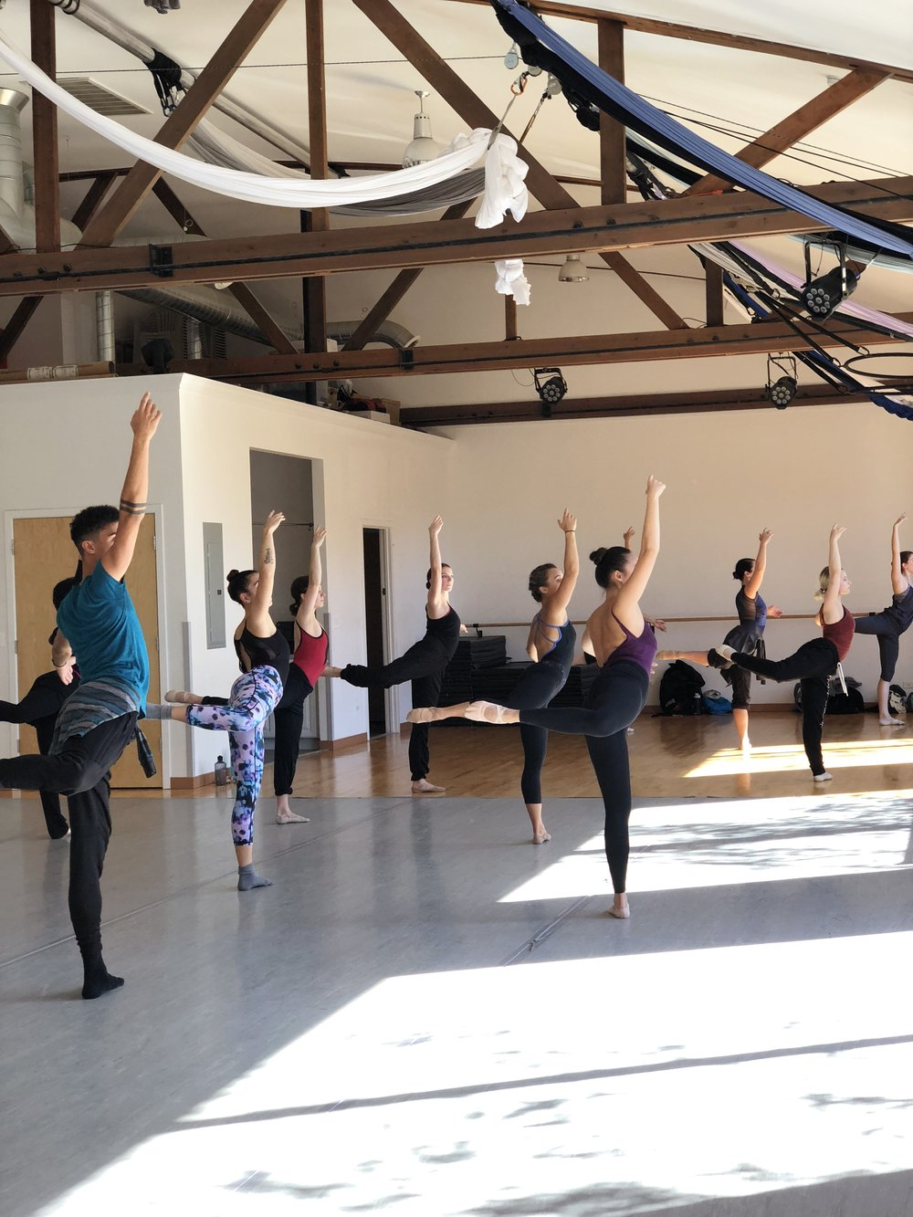 ADV/PRO BALLET   Join us for open company class.   Learn More