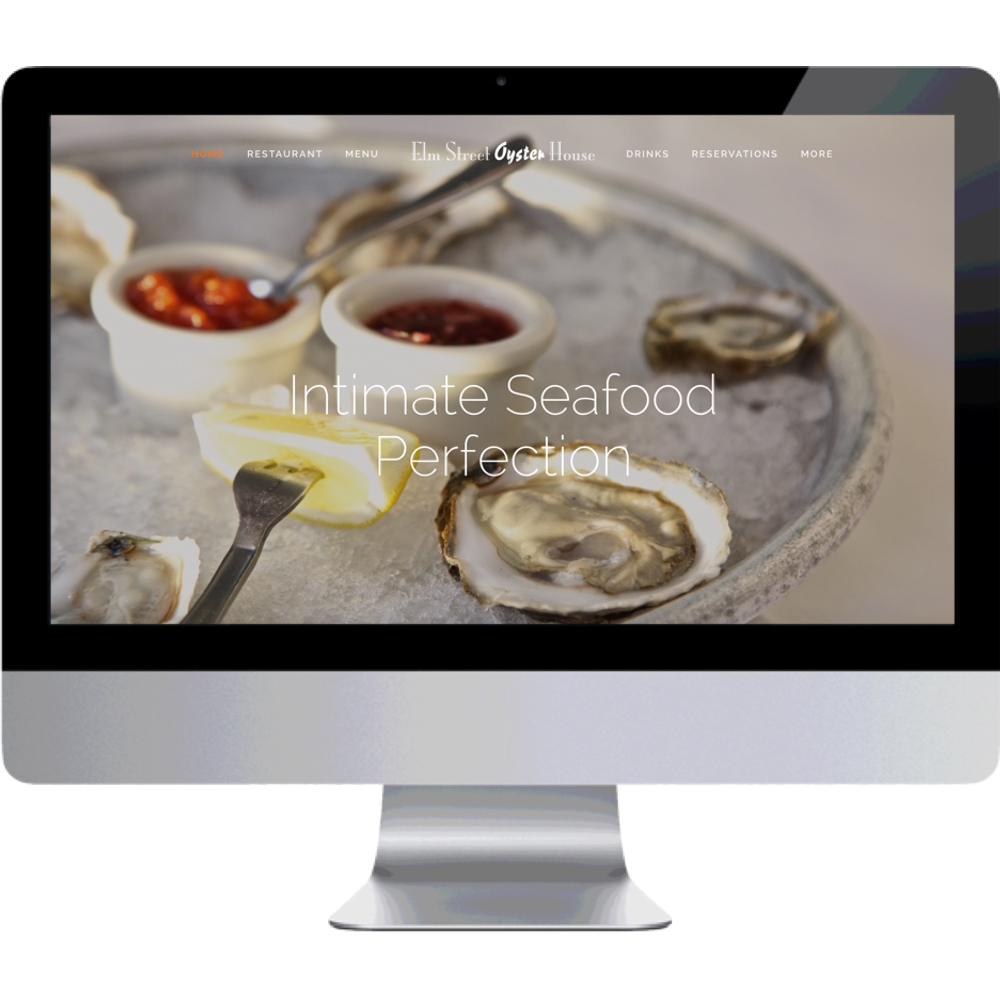 Elm Street Oyster House Homepage
