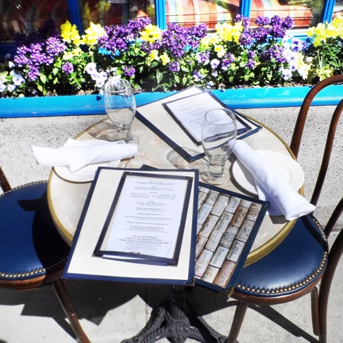 Elm Street Oyster House Greenwich Outdoor Dining