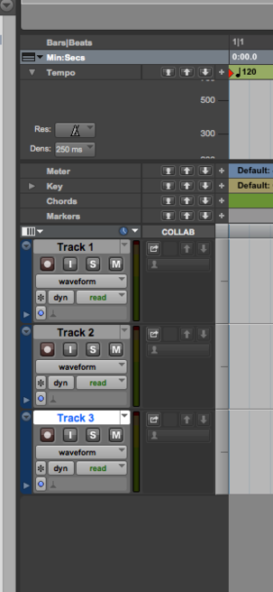 "NOTICE THE NEW ADDITIONS TO TRACKS FOR PROJECT FILES IN THE ""EDIT"" WINDOW"