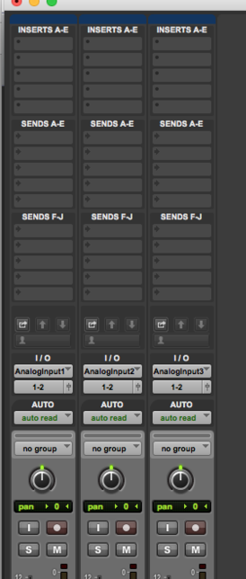 "NOTICE THE NEW ADDITIONS TO TRACKS FOR PROJECT FILES IN THE ""MIX"" WINDOW RIGHT ABOVE THE I/O's"