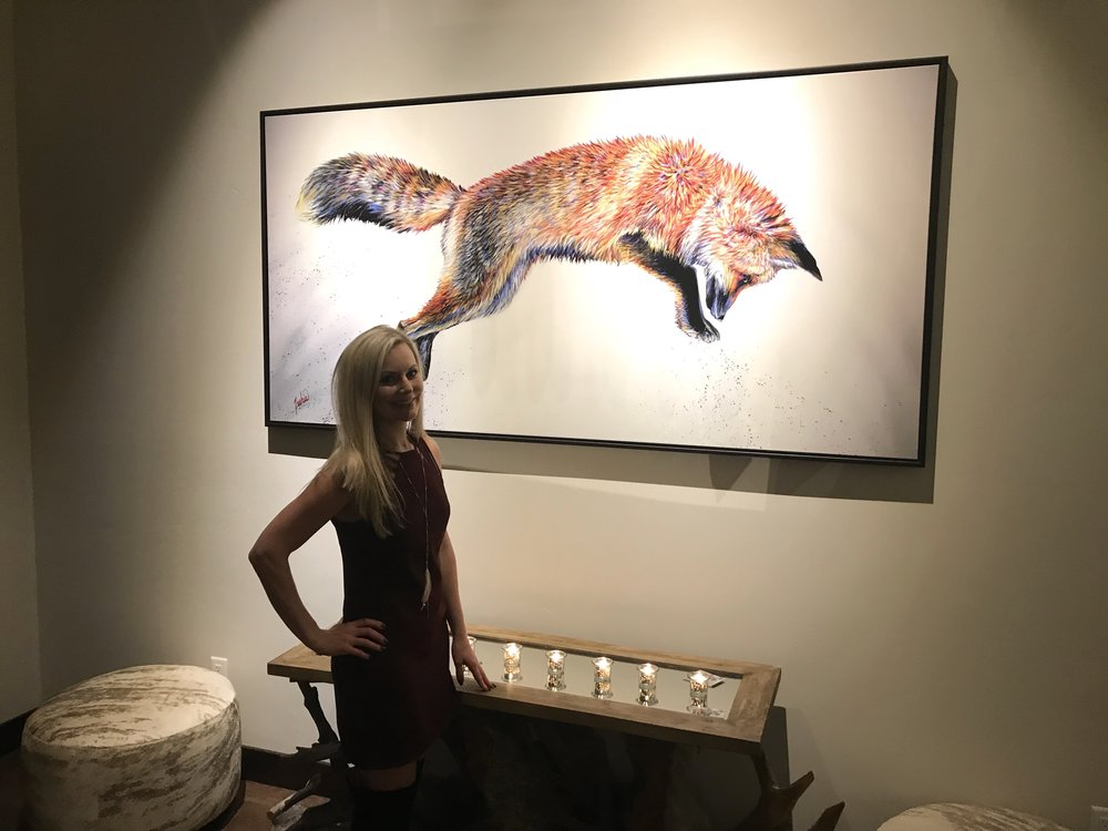 Fine Art Animal Wildlife Fox Paintings and Prints