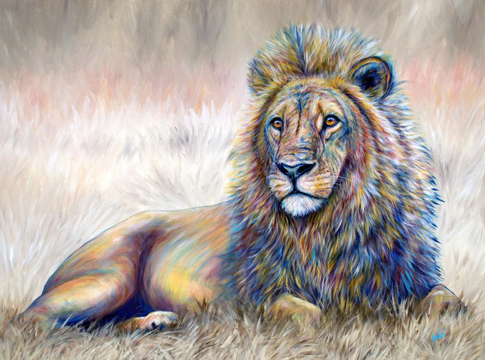 portfolio colorful contemporary animal wildlife fine art