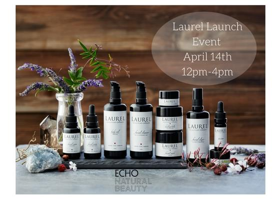 Laurel Skin Care  - Come stop by 12-4 and meet the experts at LAUREL whole plant organics skin care. We are having a launch event with LAUREL, a ritualistic range of flower and herb-based skincare, formulated with impeccably sourced, highly vibrant whole plants picked at their peak for unmatched transparency, purity and results. Book a 30 minute facial $75* during our event to experience this one-of-a-kind slow beauty. Any purchase of $75 during the event will receive a deluxe sample of honey berry enzyme mask. Book your 30 minute Laurel facial here. * $75 redeemable in Laurel product