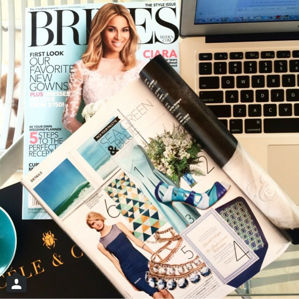 Brides Magazine - Aug/Sept 2014