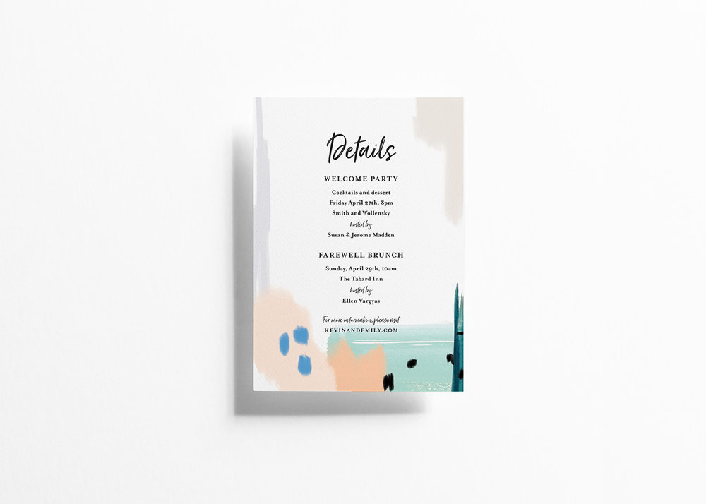 Modern Musings Details Card