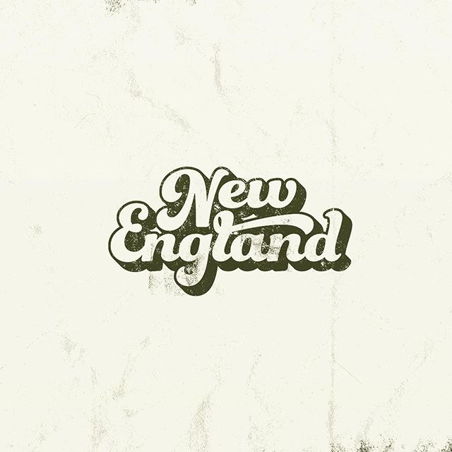 One for the originals #typography #lettering #illustration #newengland #vintage #printmaking