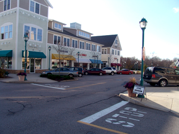 South County Commons in South Kingstown, R.I., is an example of the type of mixed-use development the Land Use 2025 study encourages. (Frank Carini/ecoRI News)