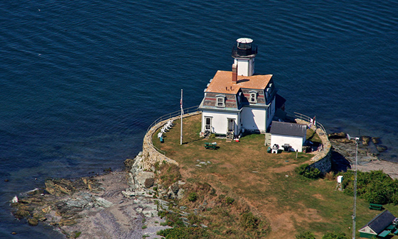 Thirty years ago this year the lighthouse on Rose Island was rescued and preserved.