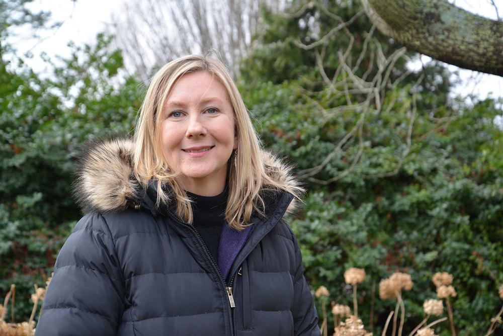 Amy Cabaniss has a plan to advance awareness of environmentally responsible behavior. (Joanna Detz/ecoRI News)