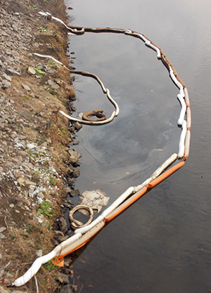 An Underground Storage Tank Along The Blackstone River In Woonsocket, R.I.,  Leaks Oil Into