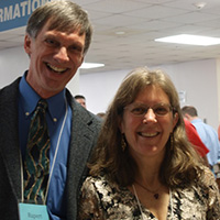 Rupert Friday and Meg Kerr co-founded the annual Land & Water Conservation Summit.